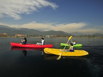 Experiencia: Kayak doble en la Laguna Piedra Roja