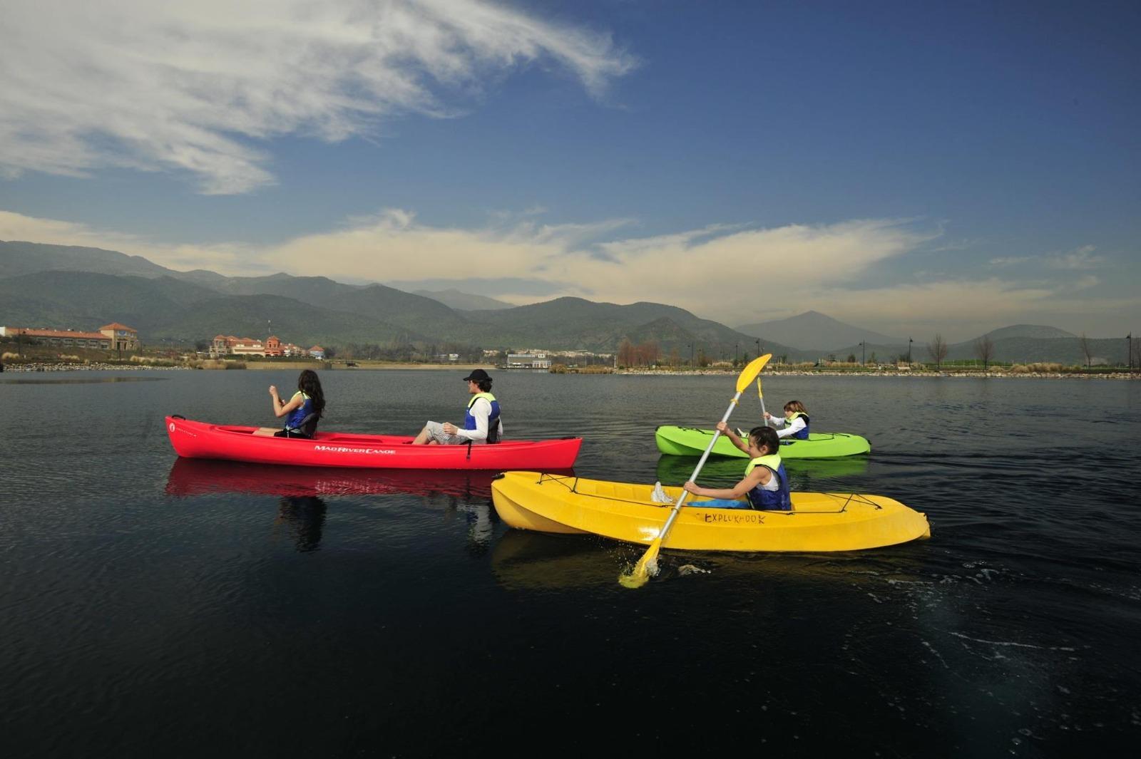 Kayak en la Laguna Piedra Roja