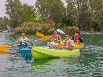 Experiencia: Kayak en la Laguna Piedra Roja
