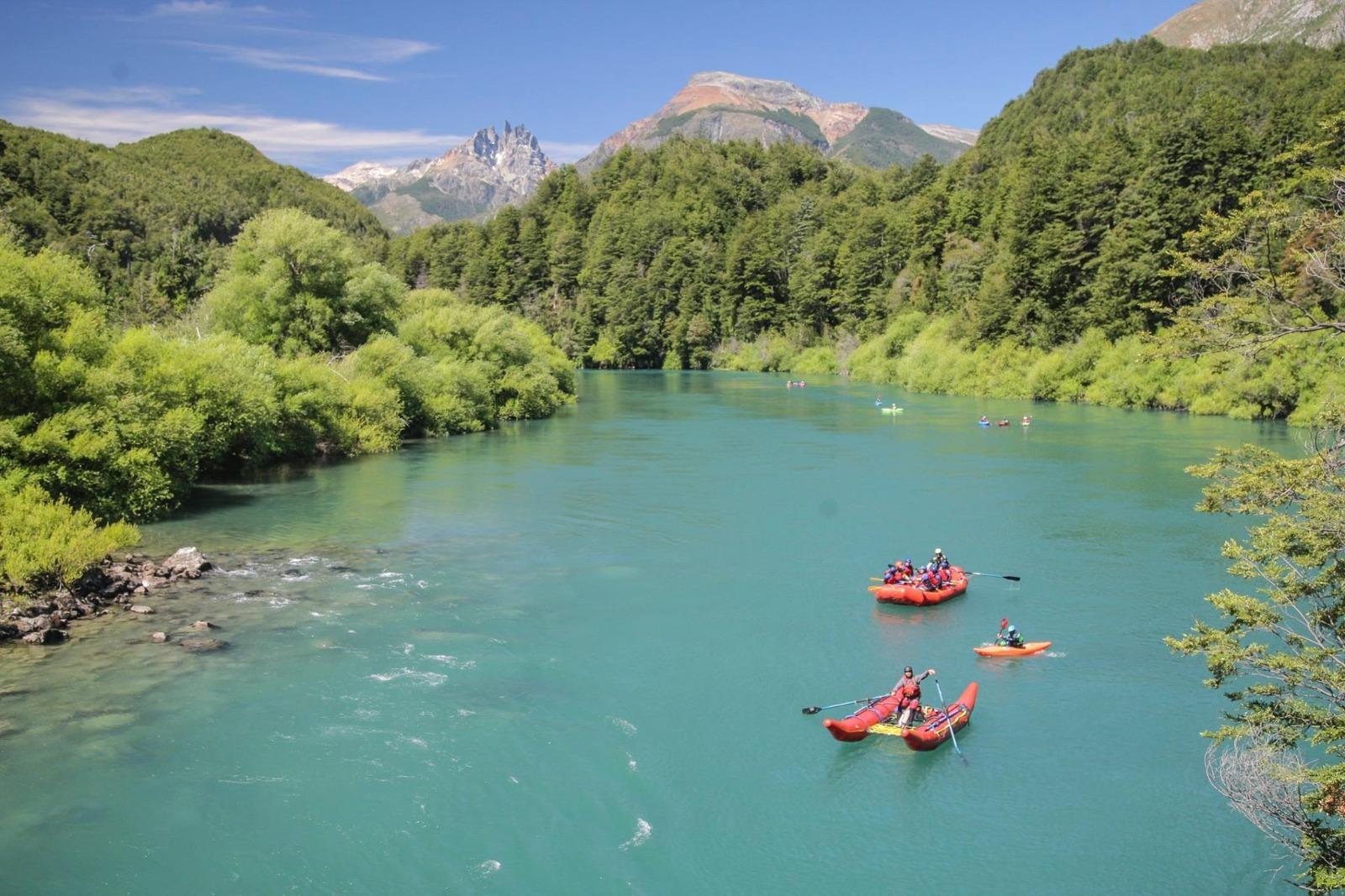 Rafting Nivel Intermedio en Futaleufú