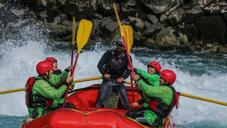 Rafting en el Río Azul, Futaleufú
