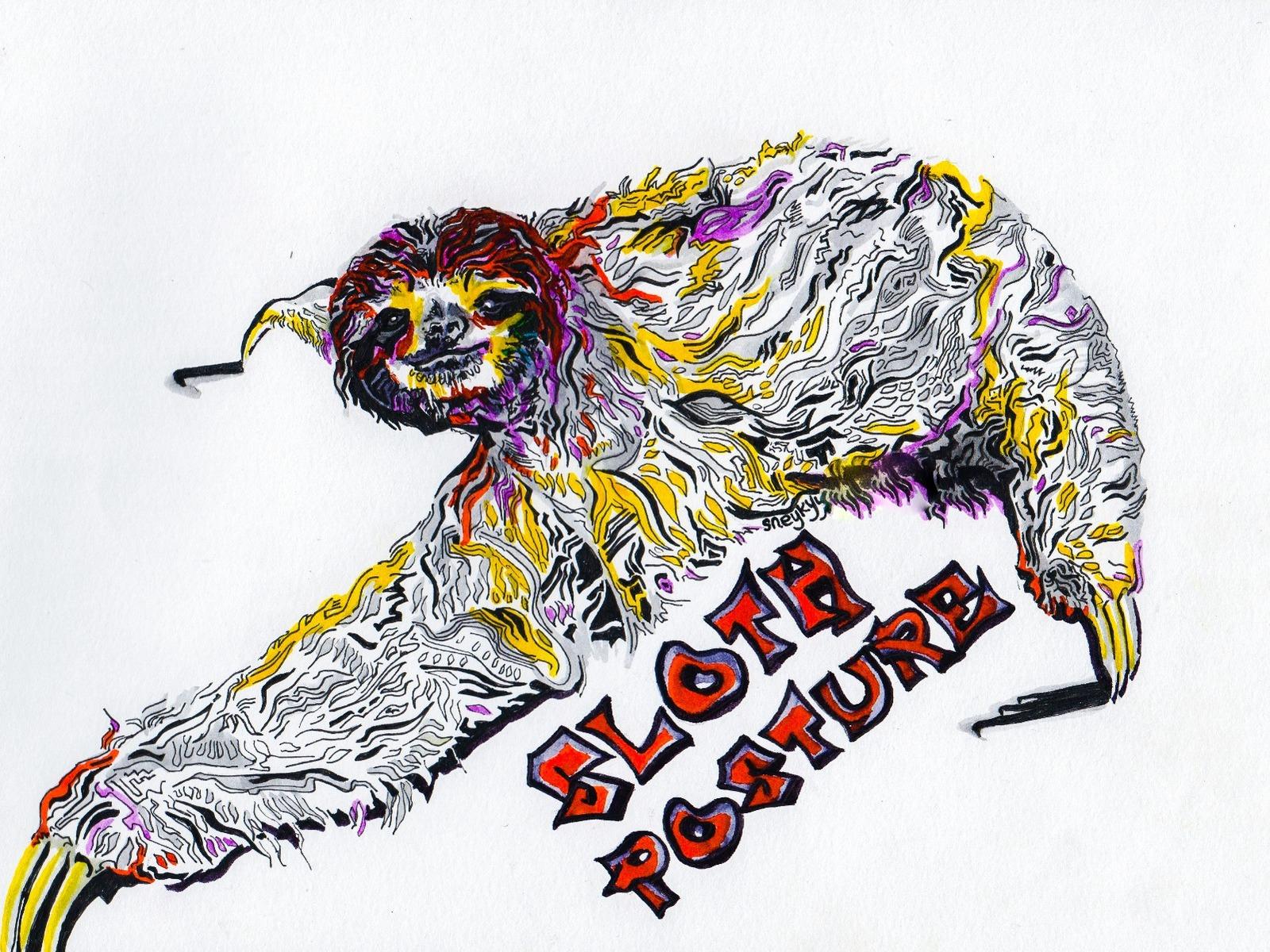 Sloth Posture
