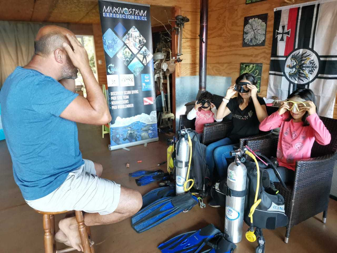 Curso PADI Open Water Diver en Juan Fernández