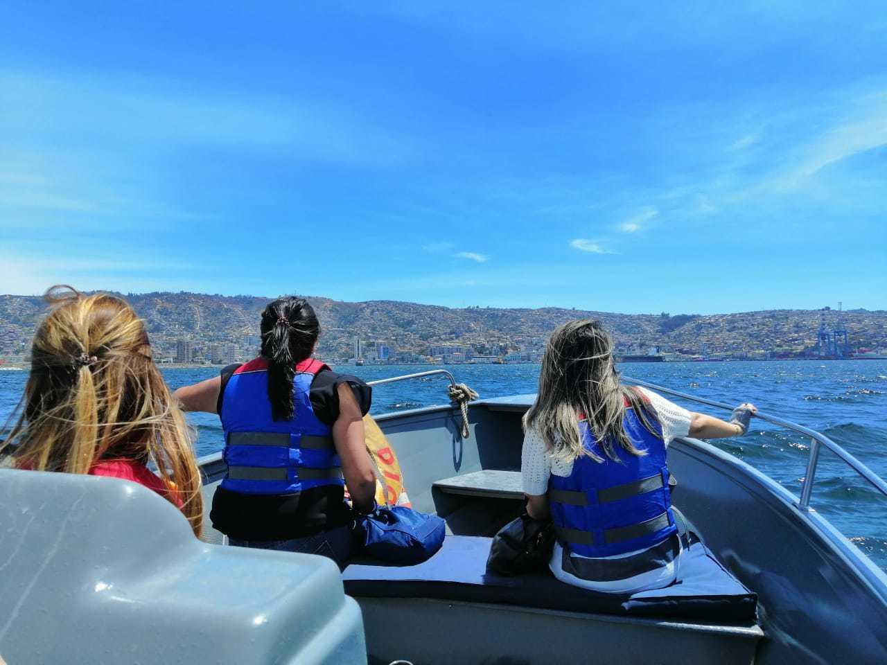 Navegación en Lancha por Valparaíso