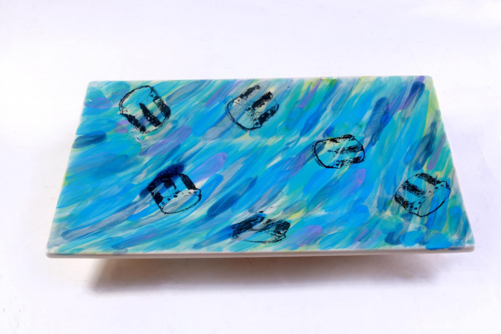 Hand-made Junkanoo Platters