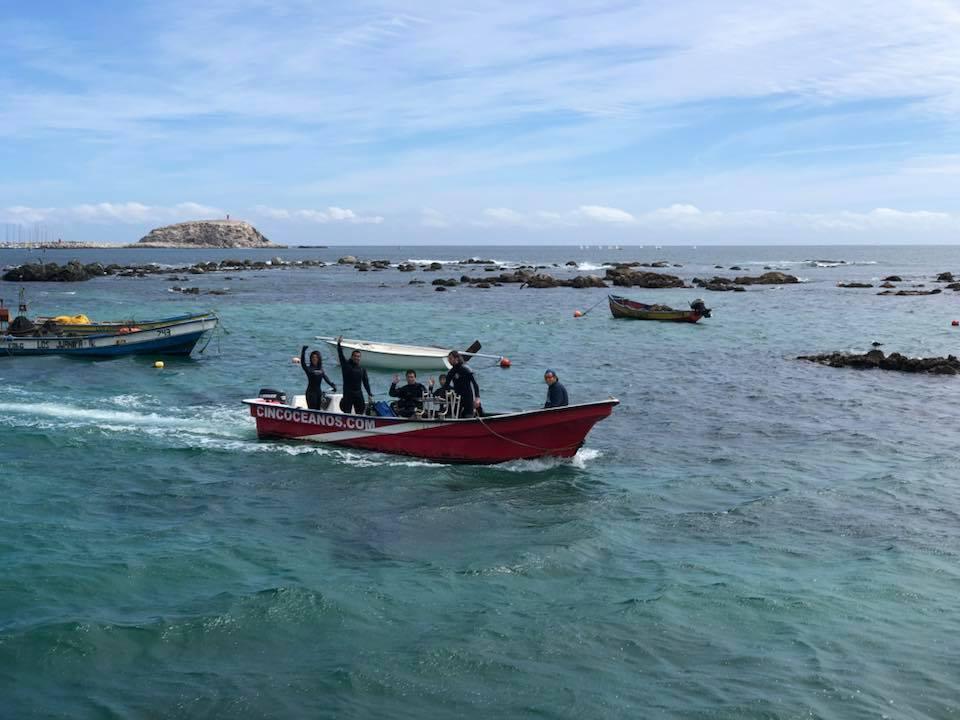 Buceo Doble Guiado en Algarrobo