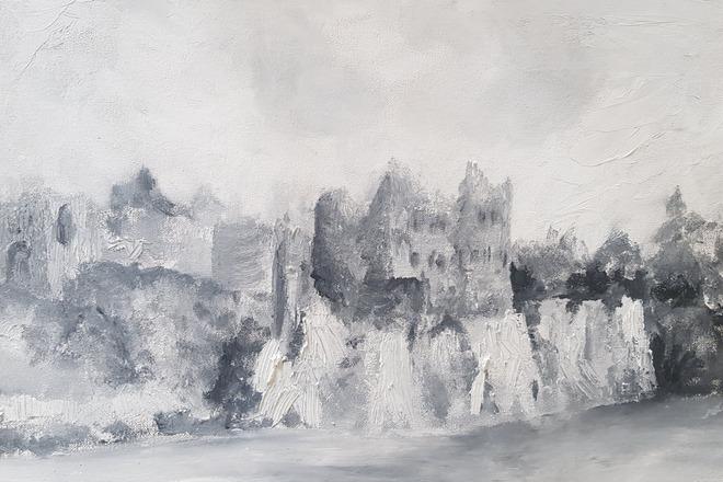 Selling: Chepstow Castle - Monotone
