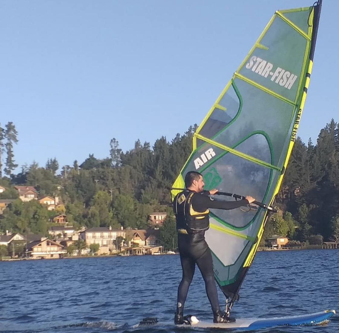 Arriendo de Windsurf en el Lago Vichuquén