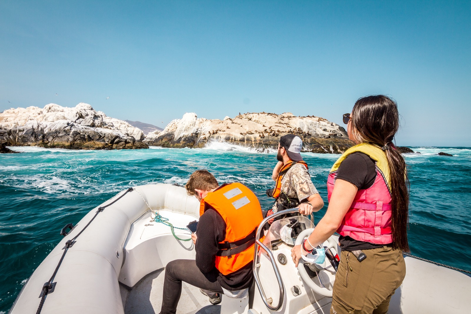 Excursión Náutica por el Borde Costero de Papudo