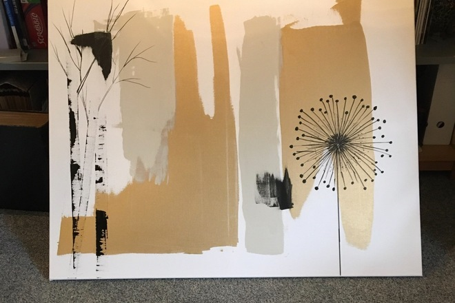 Selling: Gold abstract