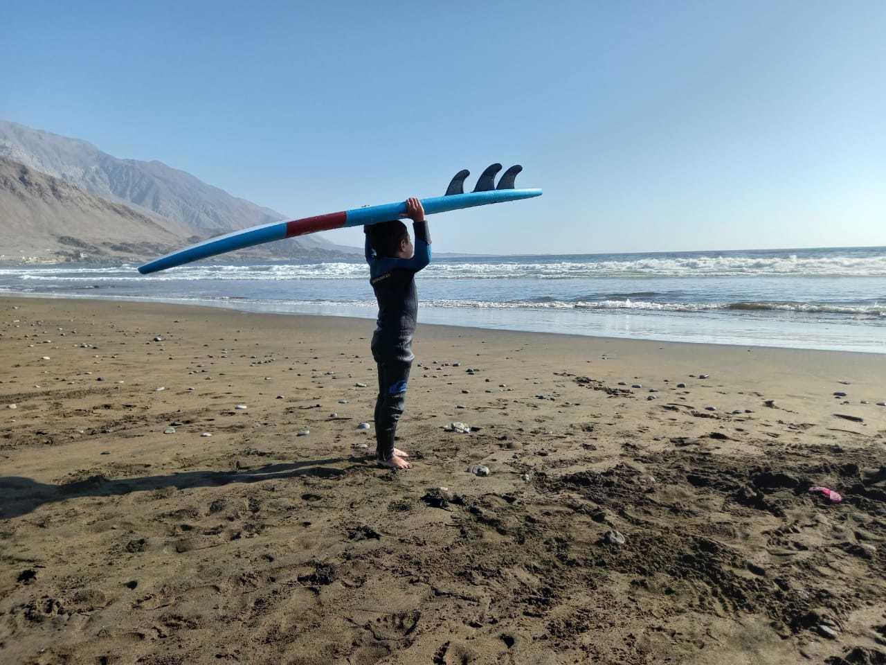 Clase Personalizada de Surf en Tocopilla