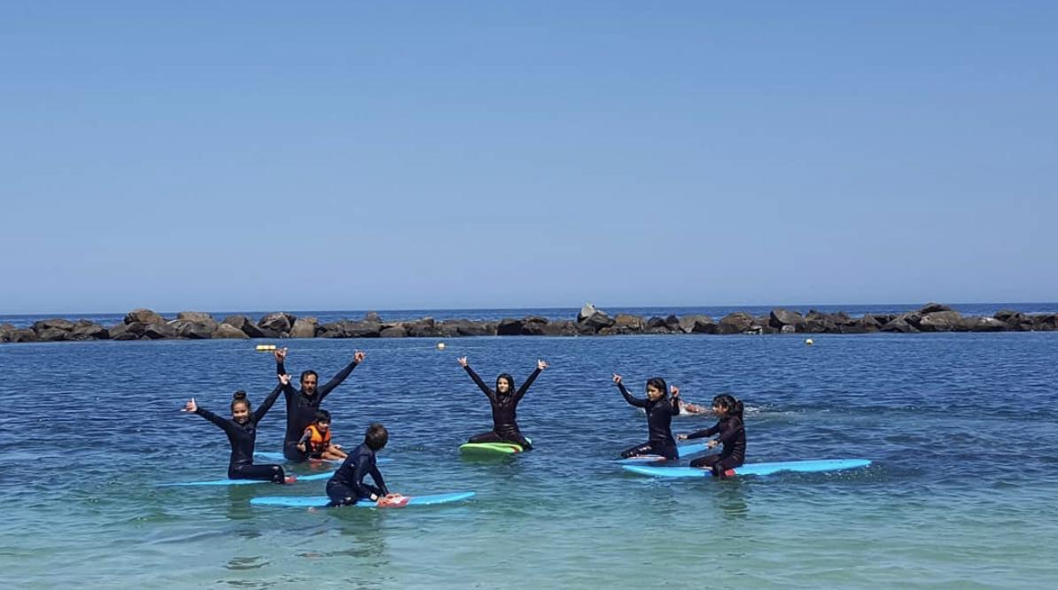 Clase de Surf Grupal en Tocopilla