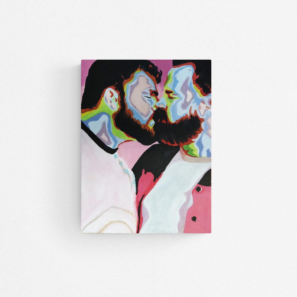 Pastel kiss