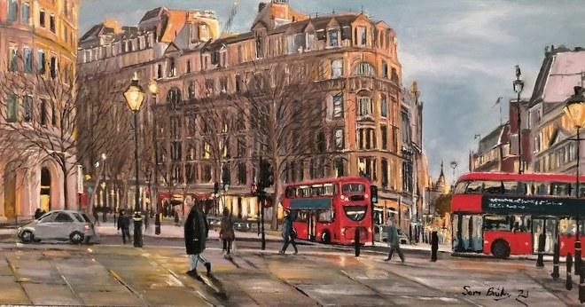 Selling: Trafalgar Square Sunset