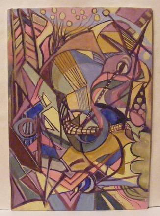 "Selling: A semi abstract comic interpretation of ""Phoenix Rising""."