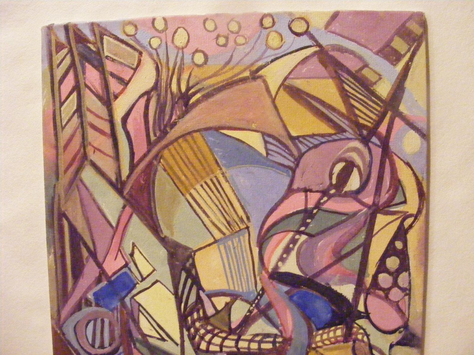 "A semi abstract comic interpretation of ""Phoenix Rising""."