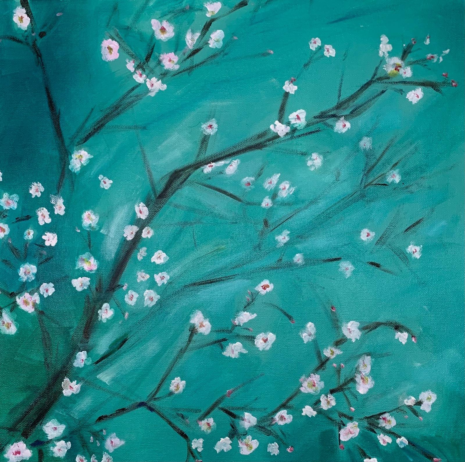 Blossoms Emerging 1