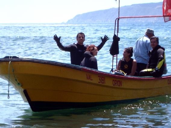 Curso PADI Open Water en la Quinta Región