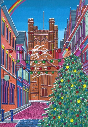 Selling: Chester Cathedral after the Snow