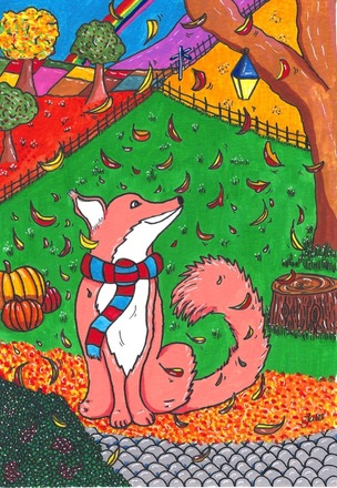 Selling: Fred the Fox in Autumn