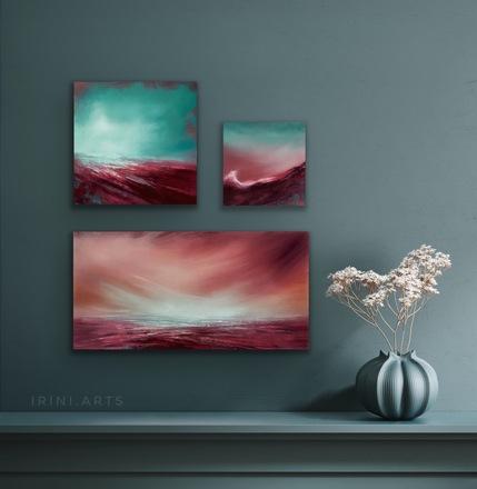 "Selling: ""Juniper"" seascape set"