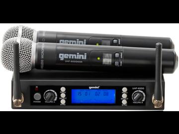 Rent : Gemini UHF DUAL MIC
