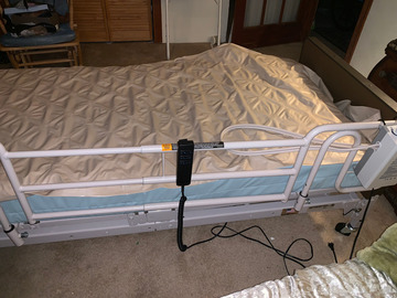 Rent: Semi Electric Homecare Bed