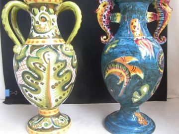 Renting out without online payment: Vases