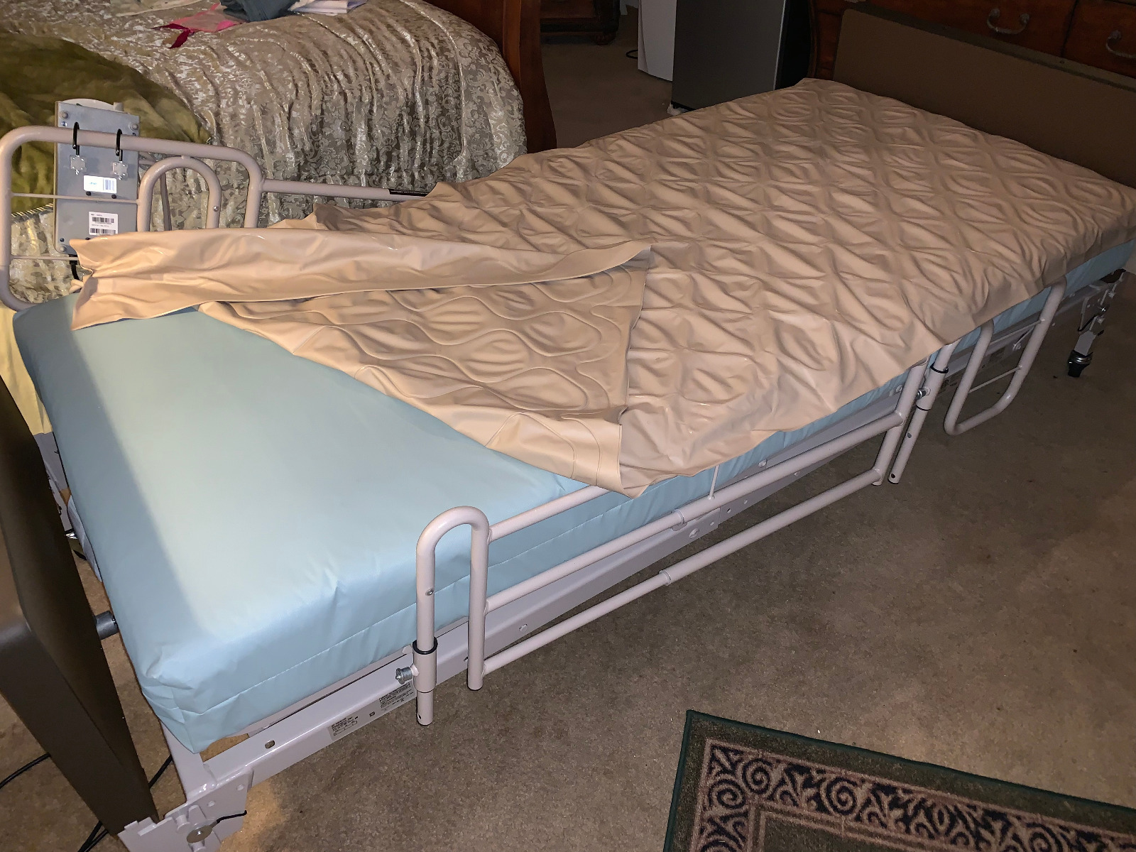 Semi Electric Homecare Bed