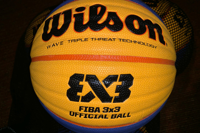 Official FIBA 3on3 Basketballs