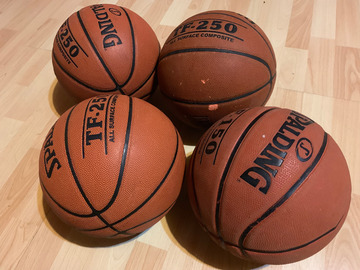 Rent: Indoor/Outdoor Basketballs