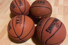 Rent: Indoor/Outdoor Basketballs
