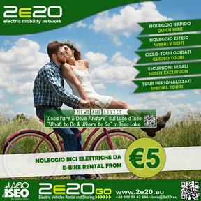 2e20go Iseo Noleggio e-Bike