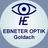Logohe ab sept.2018 mit text ebneteroptik goldach in quadrat neveralone